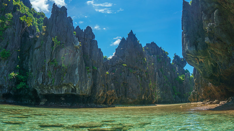 El Nido rock formation