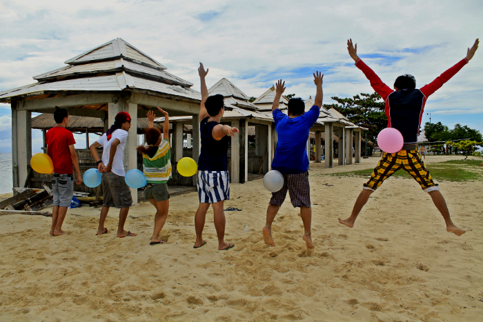 Balloon Game in Pandanon Island