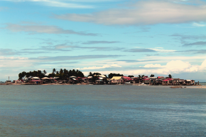 Residential Area of Pandanon Island